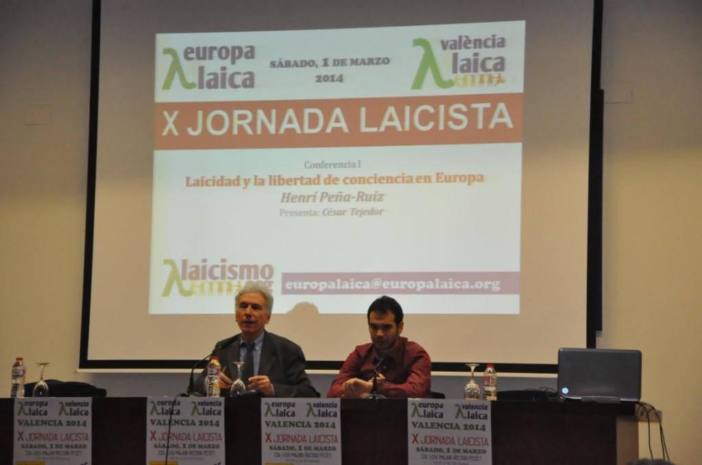 X Jornada Laicista Valencia Laica 2014 c