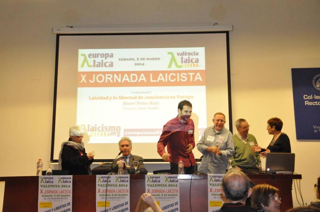X Jornada Laicista Valencia Laica 2014 d