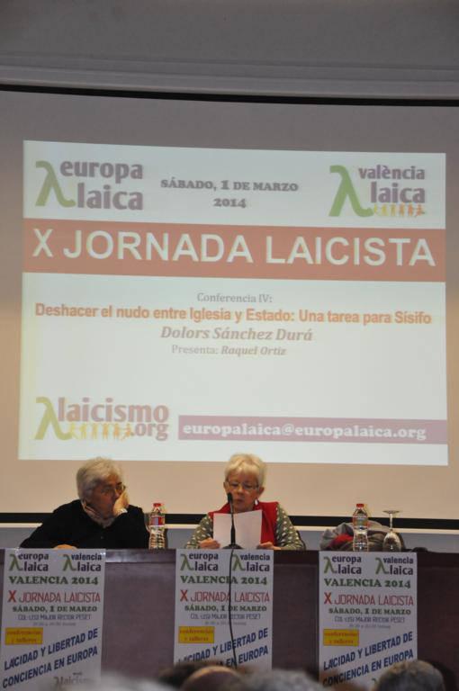 X Jornada Laicista Valencia Laica 2014 z1