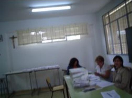 Colegio Electoral Divina Infantita Granada 2009