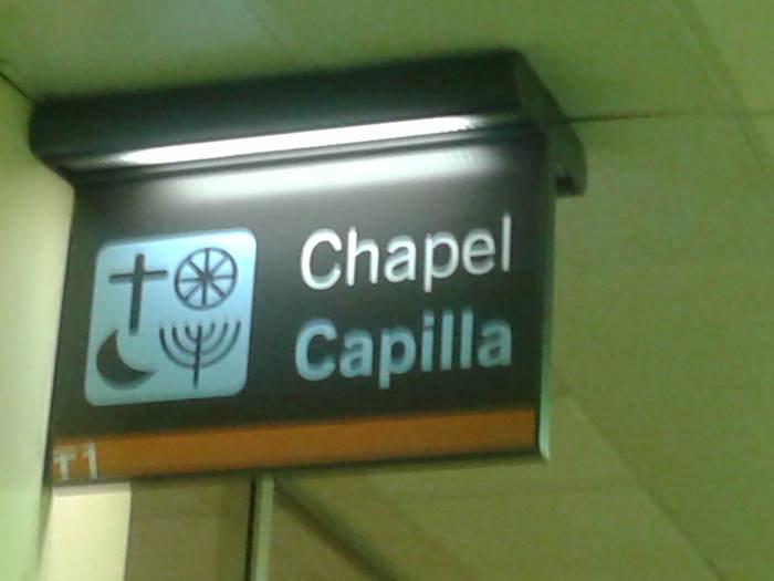 Capilla aeropuerto de Barajas