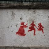 Pintada abusos en Portugal