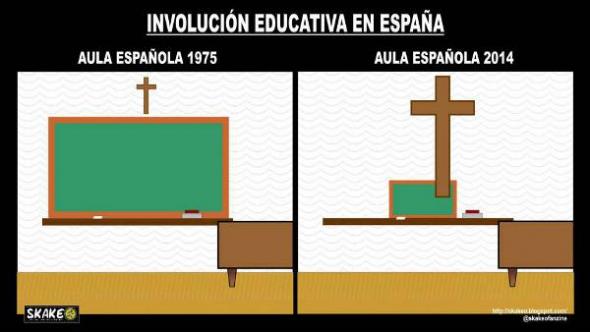 religion escuela aula crucifijo