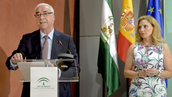 Luciano Alonso Consejero Educación Andalucia