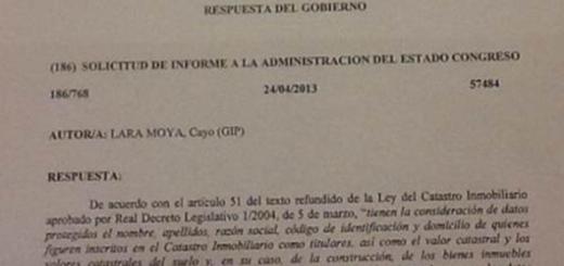 solicitud Congreso inmatriculaciones 2014.png