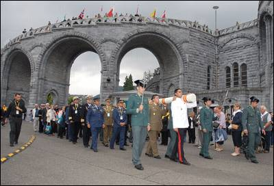 Guardia Civil peregina a Lourdes