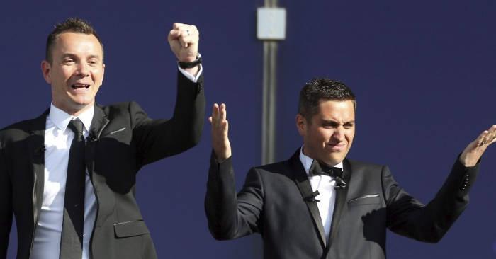 Bruno y Vincent primera pareja en contraer matrimonio homosexual en Francia (EFE)
