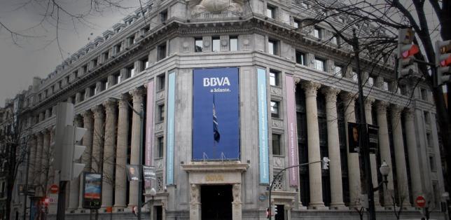 Sede del BBVA en la Gran Vía de Bilbao