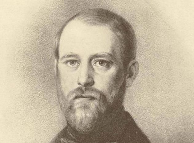 Bismarck, diputado por el estamento de la nobleza de Jerichow en el primer Parlamento territorial unificado, 1847. Grabado en madera.
