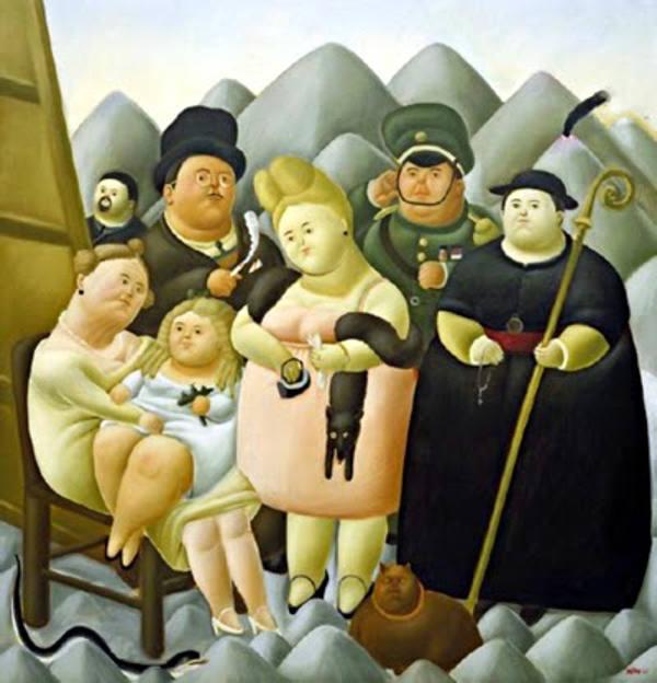 Botero: La Familia Presidencial