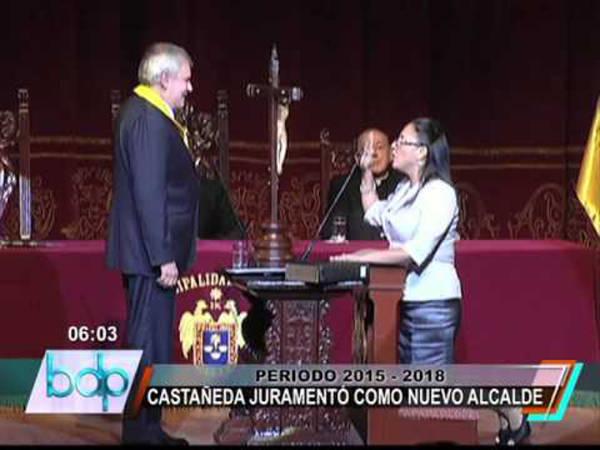 Cardenal Cipriani jura municipio de Lima 2015