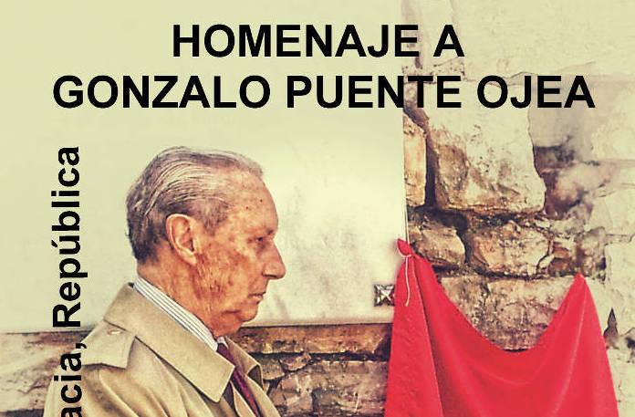 Cartel homenaje Gonzalo Puente Ojea 2015 w