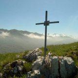 Cruz en el monte Penamellera en Asturias Foto Javier Urrutia
