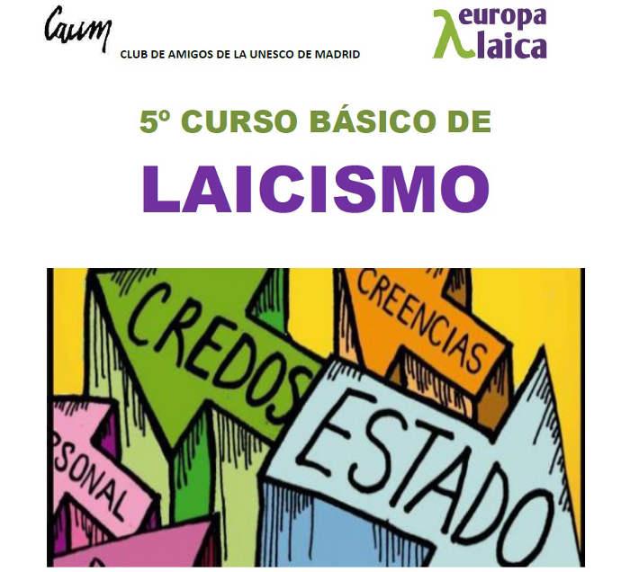 Curso laicismo Madrid 2015