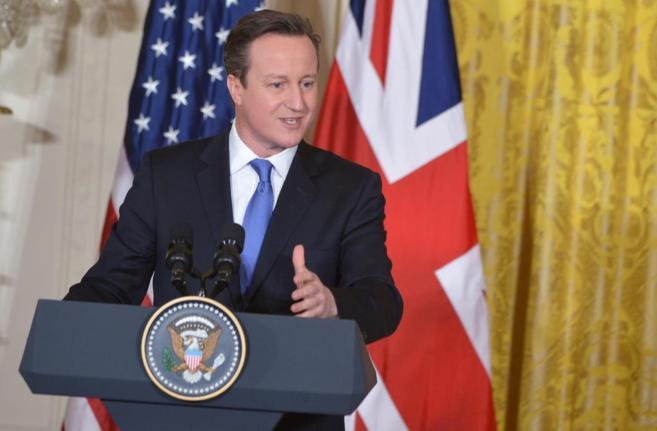 David Cameron habla en una rueda de prensa el pasado día 11 en Washington. MANDEL NGAN AFP-PH-WNI