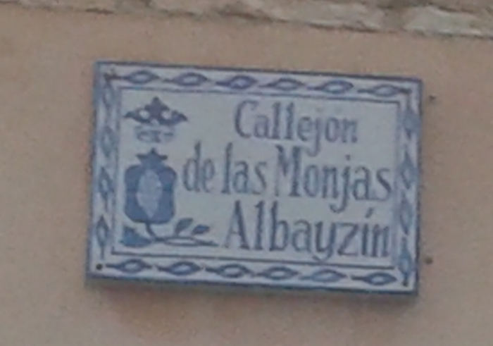 Granada Callejon de las Monjas