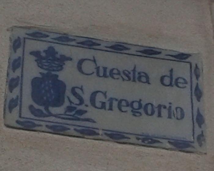 Granada Cuesta San Gregorio
