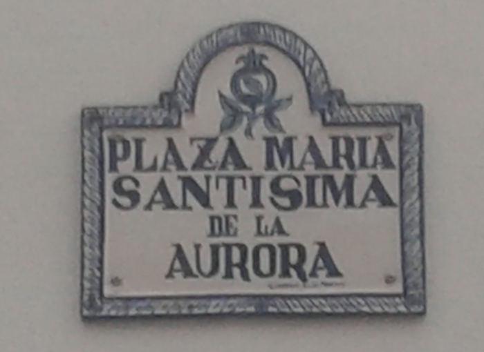 Granada Plaza Virgen Aurora