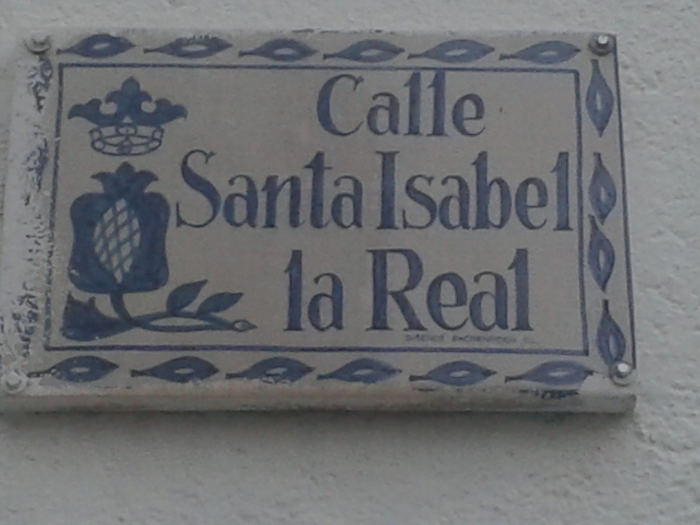 Granada calle Santa Isable la Real