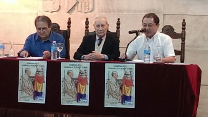 Homenaje a Gonzalo Puente Ojea en Madrid 31 de enero 2015 Intervención de Juan Picó