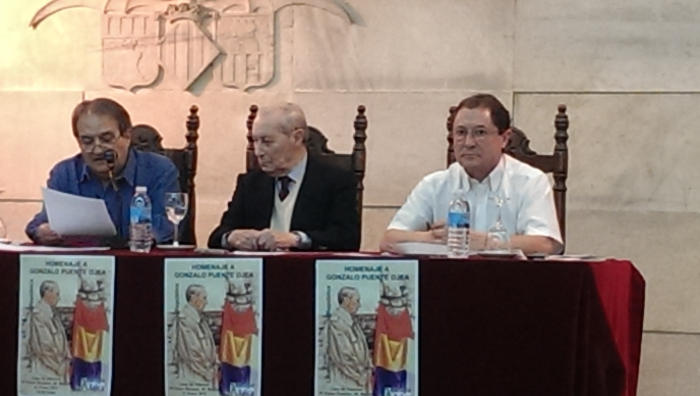 Homenaje a Gonzalo Puente Ojea en Madrid 31 de enero 2015 Intervención de Francisco Delgado