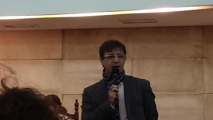 Homenaje a Gonzalo Puente Ojea en Madrid 31 de enero 2015 Intervención de Miguel Ángel López