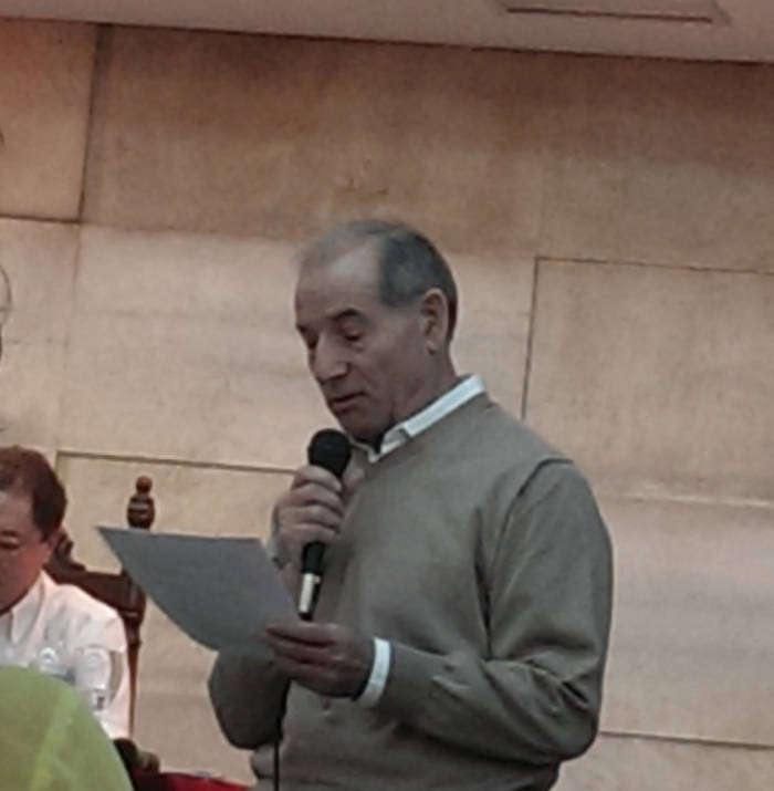 Homenaje a Gonzalo Puente Ojea en Madrid 31 de enero 2015 Intervención de Evaristo Villar