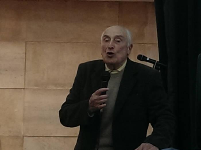 Homenaje a Gonzalo Puente Ojea en Madrid 31 de enero 2015 Intervención de Ramón Villanueva