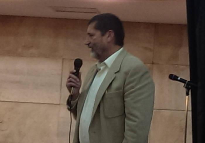 Homenaje a Gonzalo Puente Ojea en Madrid 31 de enero 2015 Intervención de Juan Antonio Aguilera