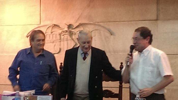 Homenaje a Gonzalo Puente Ojea en Madrid 31 de enero 2015