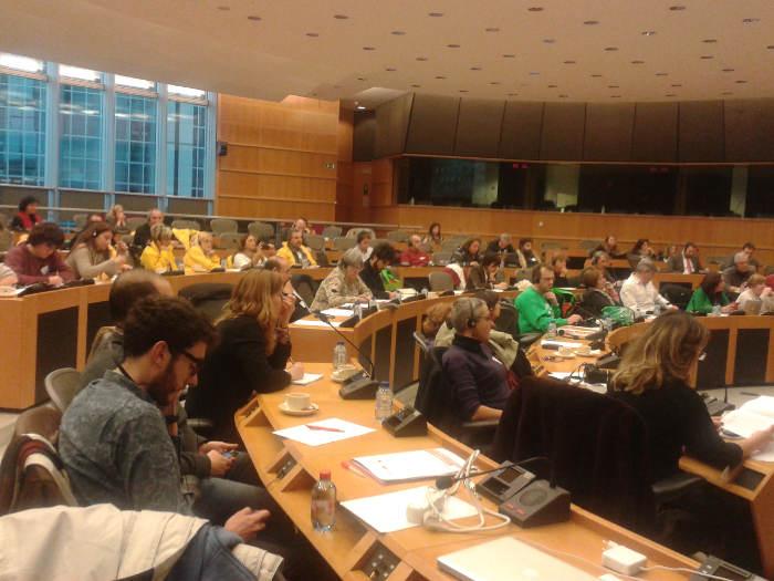 Jornada educacion Parlamento Europeo 20150128