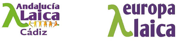 Logo Cadiz Laica y Europa Laica