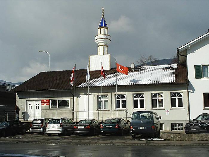 Mezquita en un cantón de Suiza