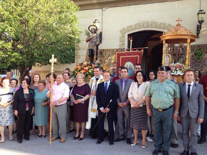 Santas patronas de la Puebla (Granada) que serán nombradas alcaldesas perpetuas en 2015