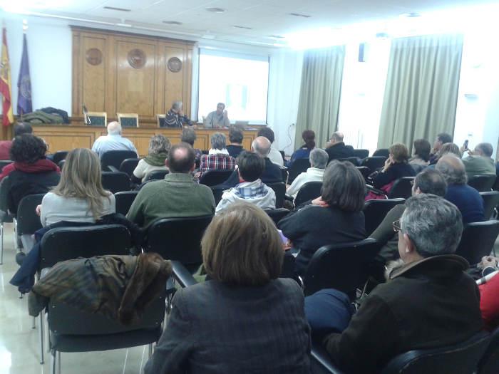 Tertulia laicista Albacete 20150114 Asistentes