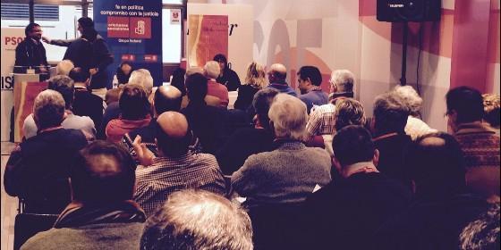 asamblea cristianos socialistas PSOE 2015