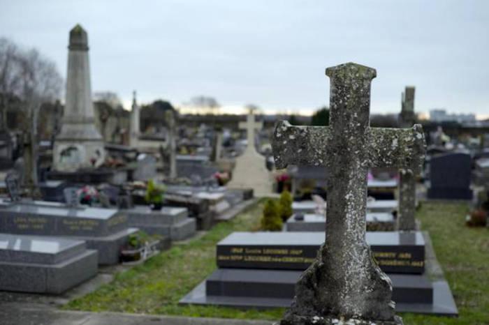 Cementerio francés de Champlan. KENZO TRIBOUILLARD AFP