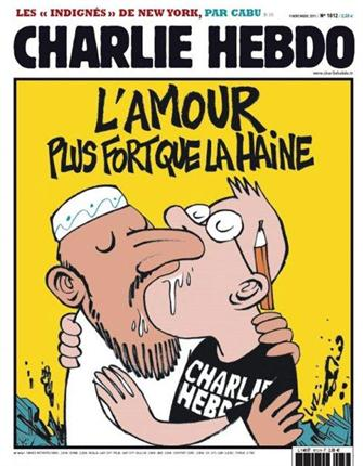 Caricaturas del semanario Charlie  Hebdo