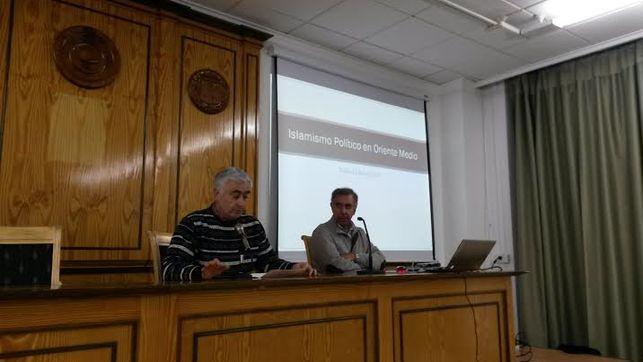 Conferencia de Waleed Saleh en las Jornadas Laicistas de Albacete 2015