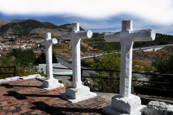 cruces cerro Castillejo Mondujar Granada 2017