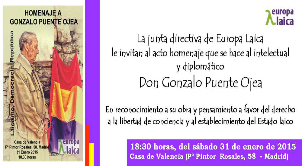 homenaje a Gonzalo Puente Ojea 2015