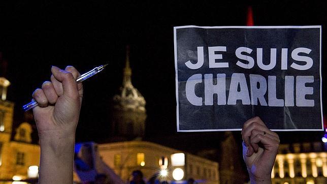 je suis Charlie en Paris 2015