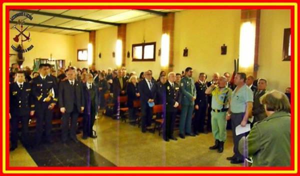 misa Hospitalet 2015 autoridades  y legionarios