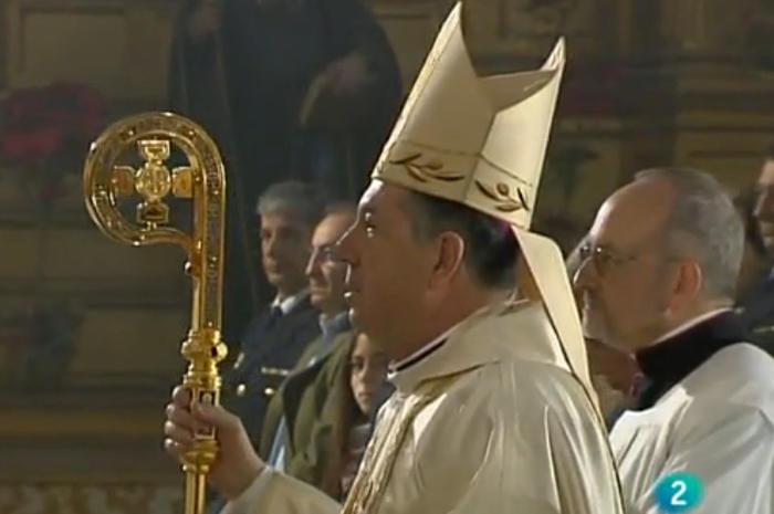 """Misa castrense retransmitida en el programa semanal católico de TVE """"El Día del Señor"""". 11 enero 2015"""