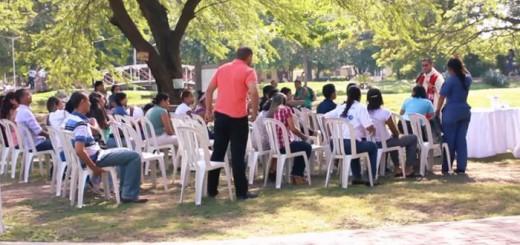 Misa en la Universidad del Magdalena en Colombia
