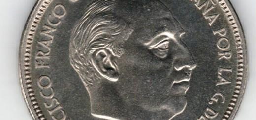 moneda Franco por la gracia de dios