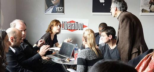 periodista de Charlie Hebdo acogidos en  Liberation