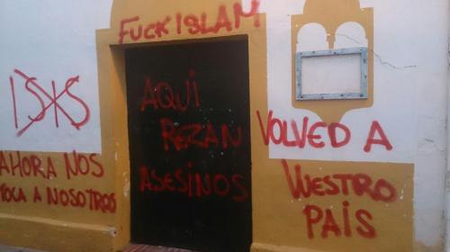 Pintada en Jerez de la Frontera. Fotografía de Juan Carlos Aibar.