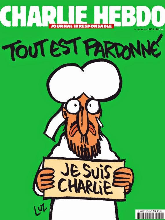 portada Charlie Hebdo tras ataentado 2015