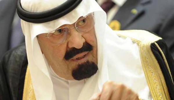 Rey Abdalá de Arabia
